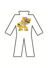 BSE POLYESTER SPRAY OVERALLS