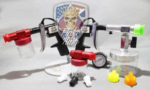 Flake guns