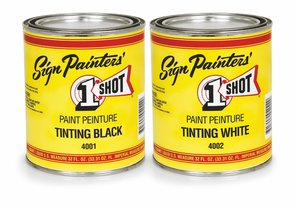 Tinting Black and White