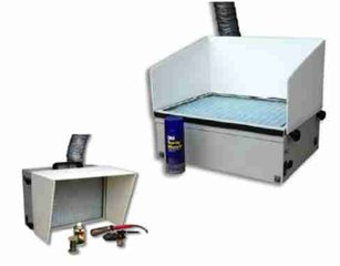 Airbrush air cleaners