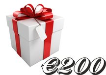 Giftcard €200,-