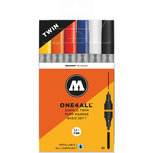 MOLOTOW ONE4ALL Acrylic Twin Marker Basis set 1
