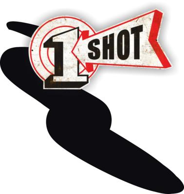 One Shot Lettering Black 118ml