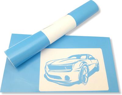 Template vinyl blue 30cm
