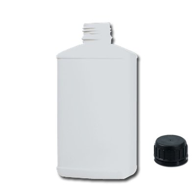 500ml bottle with cap