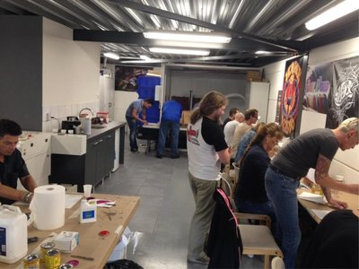 Pinstriping Basics Workshop 22-09-2018