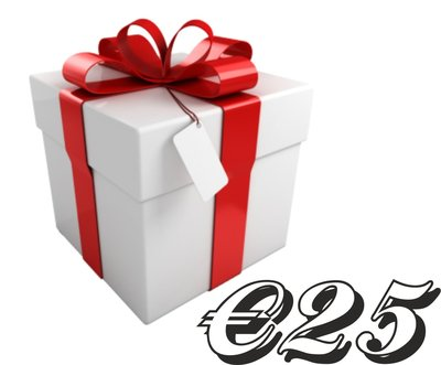 Giftcard €25,-