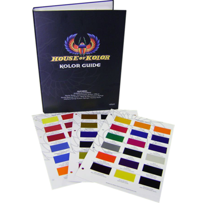House of Kolor S2 color book