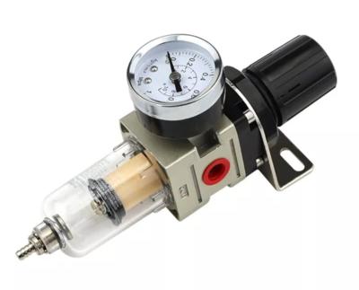 Regulator moister and manometer 1/4