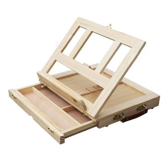 Table Easel with drawer