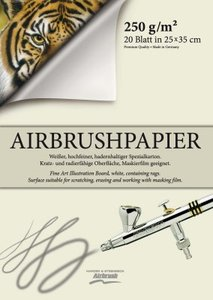 Airbrush paper 500x350mm 20 sheets