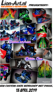 Dikkie's Custom Shoe workshop
